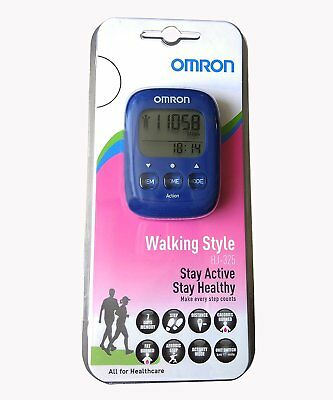 omron hj 325 pedometer review