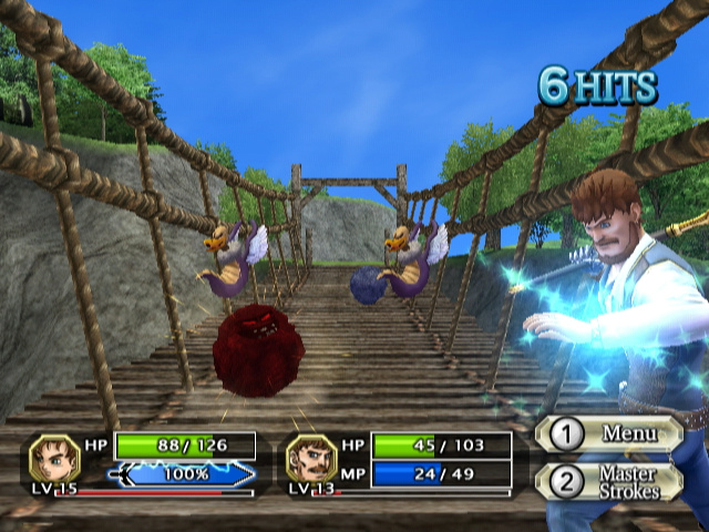 dragon quest swords wii review