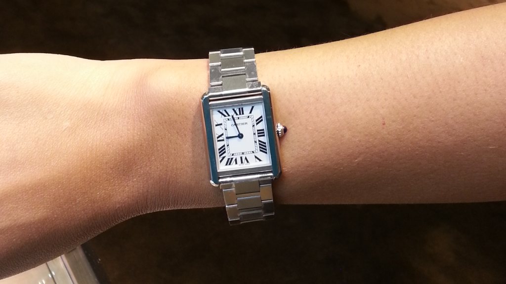 cartier tank solo small review