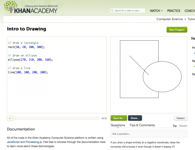 khan academy computer science review