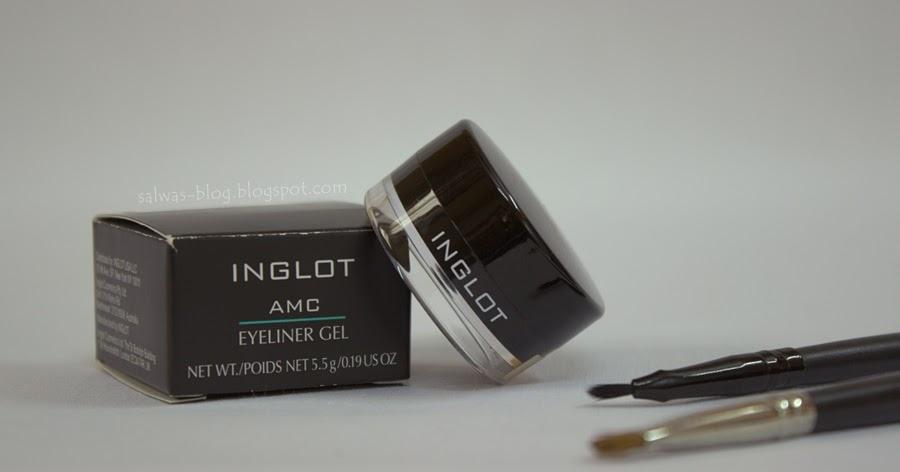 inglot amc eyeliner gel review