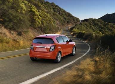 2012 chevrolet sonic lt hatchback review