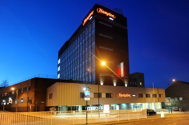 hampton by hilton sheffield reviews