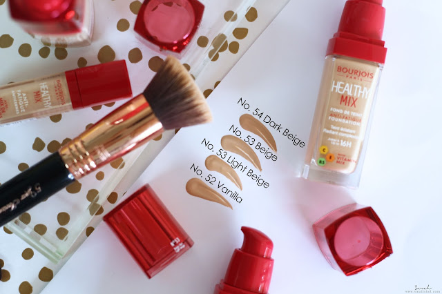 new bourjois healthy mix foundation review