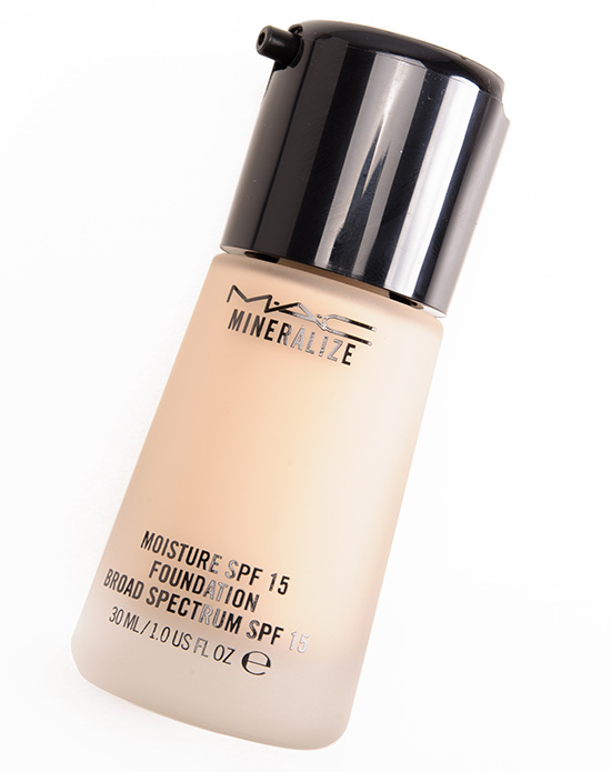 mac mineralize spf 15 foundation review