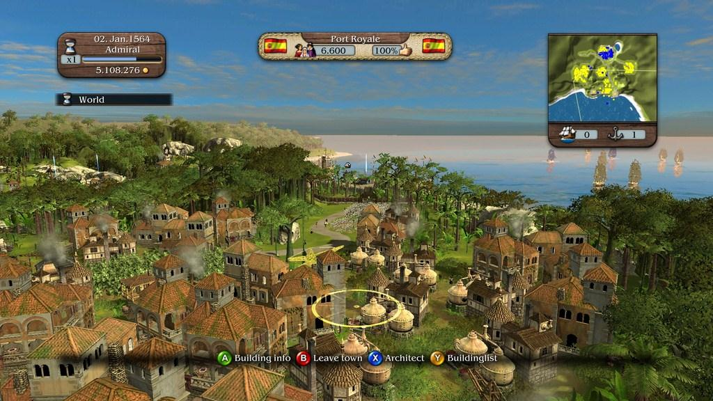 port royale xbox 360 review