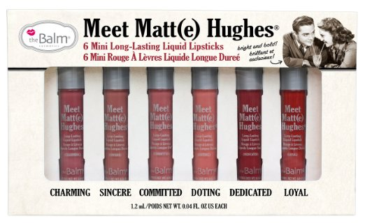 the balm meet matte hughes mini set review