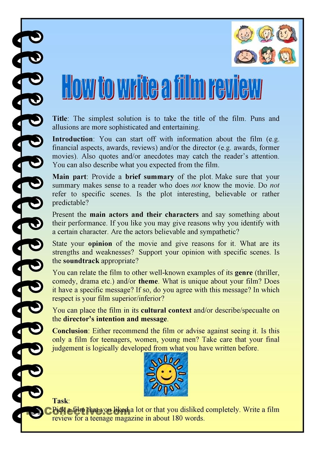 how to get your short film reviewed