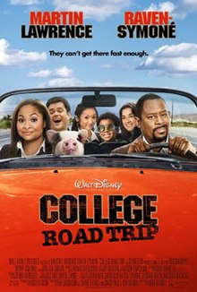 college road trip movie review