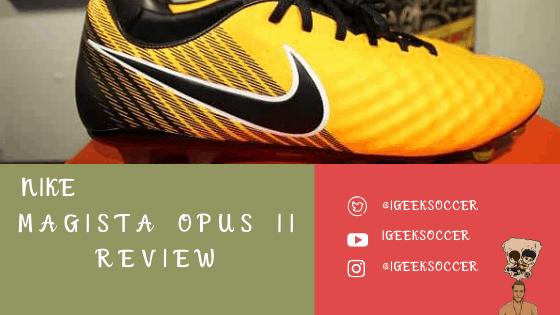 nike magista opus ii review