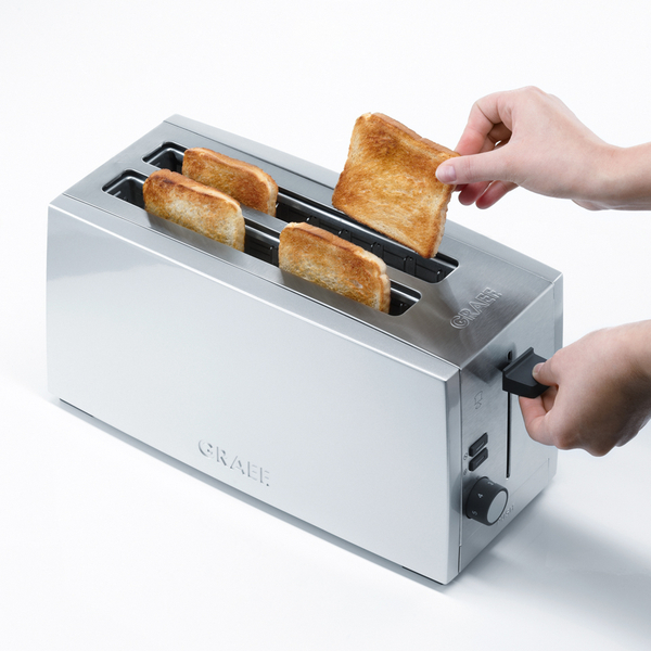 4 slice long slot toaster reviews