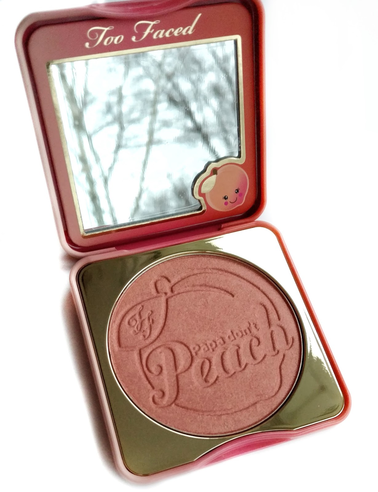 too faced papa don t peach blush review
