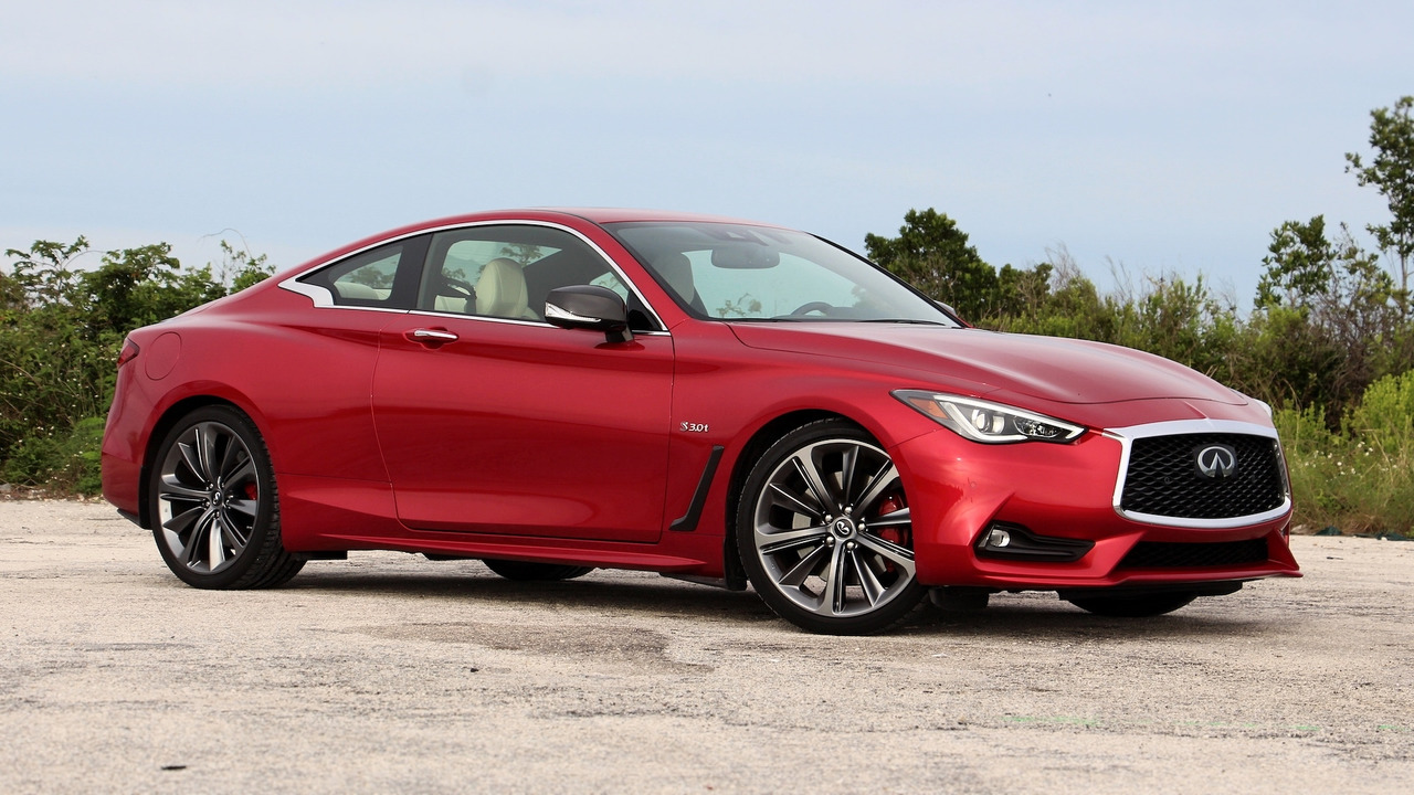 infiniti q60 red sport review