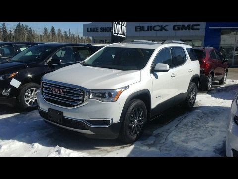 2017 gmc acadia review youtube