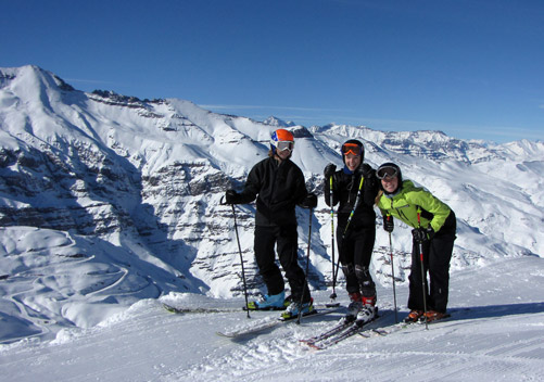 skiing in south america reviews