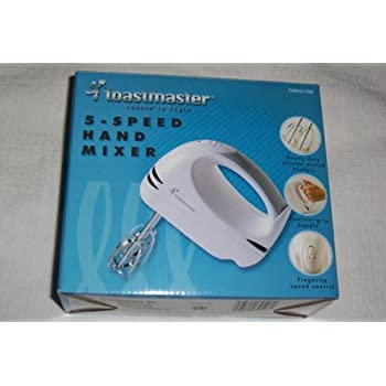 toastmaster 5 speed hand mixer reviews