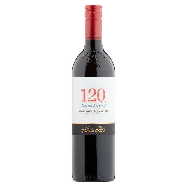 santa rita 120 cabernet sauvignon review