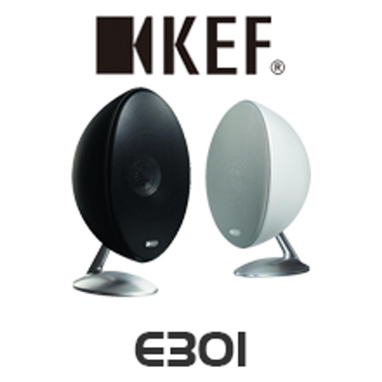 kef e301 satellite speakers review
