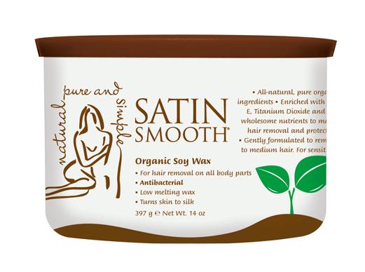 satin smooth organic soy wax reviews