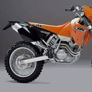 2002 ktm 400 exc review