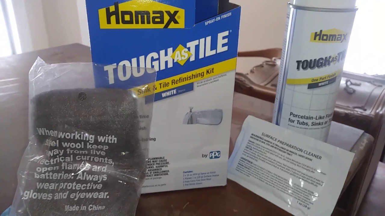 homax tub and tile refinishing kit reviews