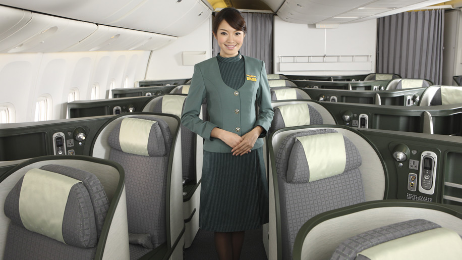eva air 777 300er business class review