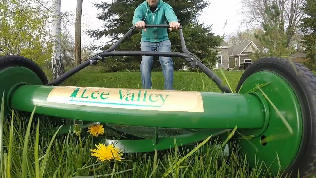 lee valley reel mower review