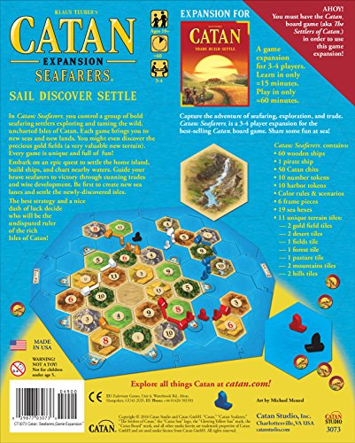 settlers of catan seafarers review