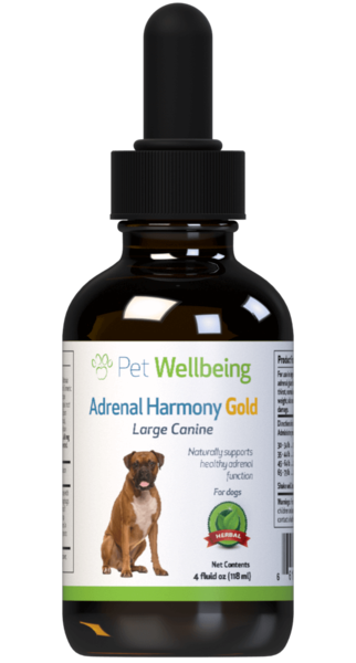 adrenal harmony gold for dog cushings reviews