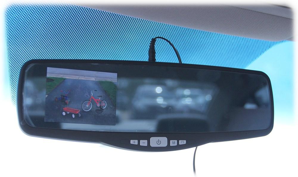 peak rear view camera review