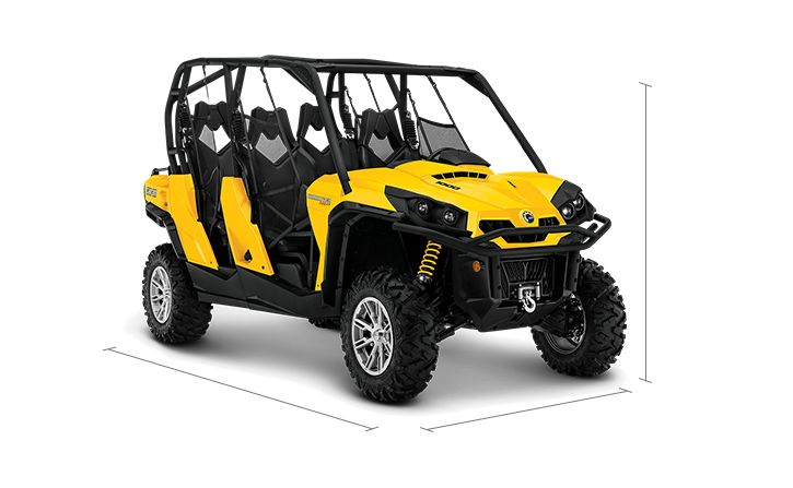 can am commander 4 seater review