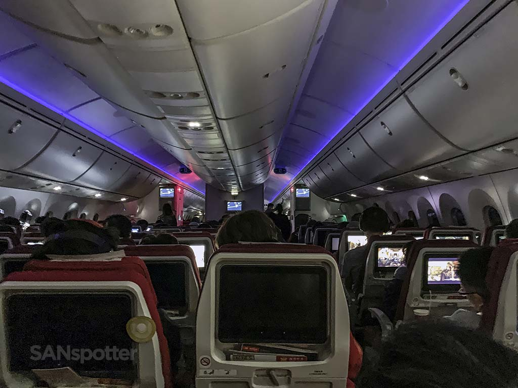 hainan airlines review economy class