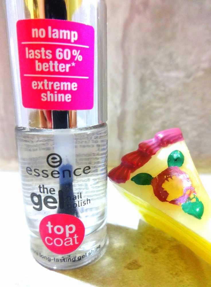 essence the gel nail polish top coat review