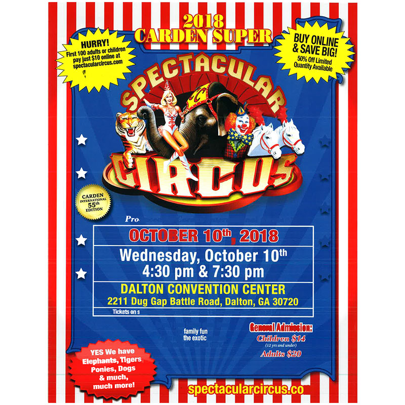 carden super spectacular circus reviews