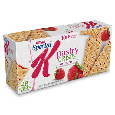 special k pastry crisps strawberry review