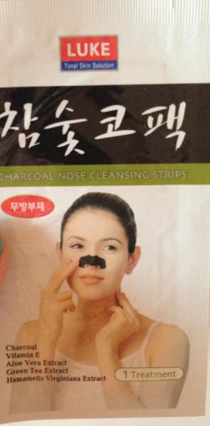 luke charcoal nose cleansing strips review