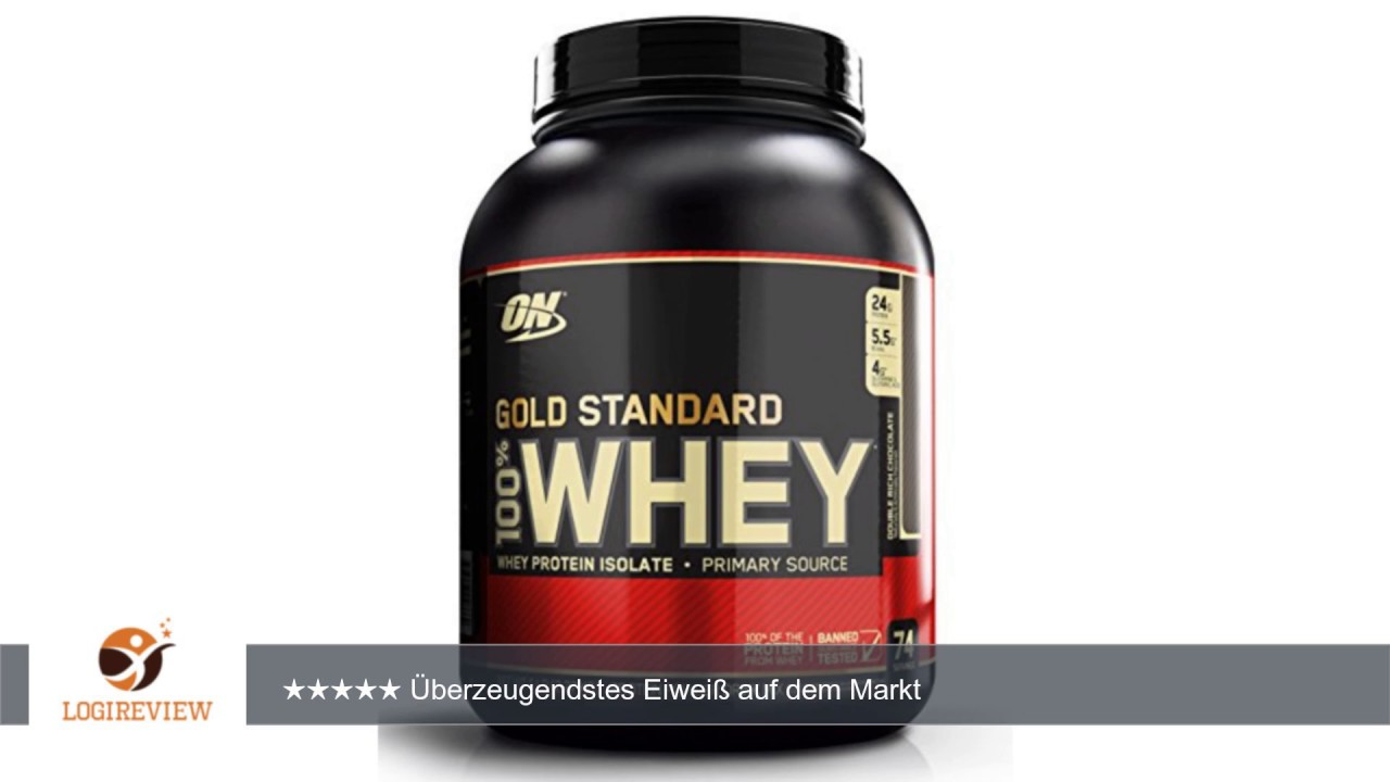 gold standard whey double rich chocolate review