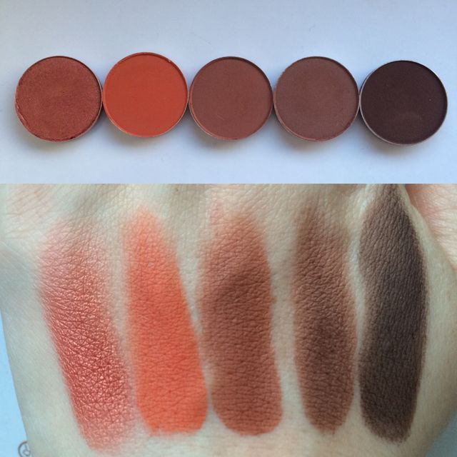 mac swiss chocolate eyeshadow review