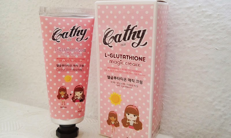 cathy doll l glutathione magic cream review