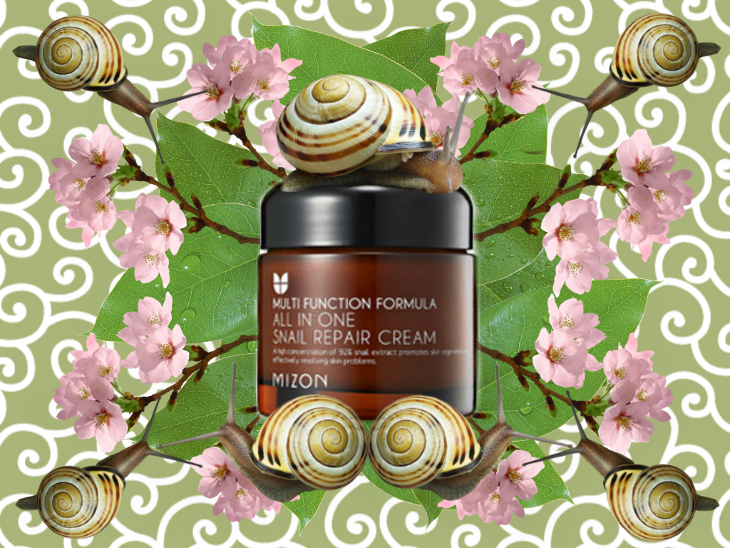 mizon snail all in one cream review