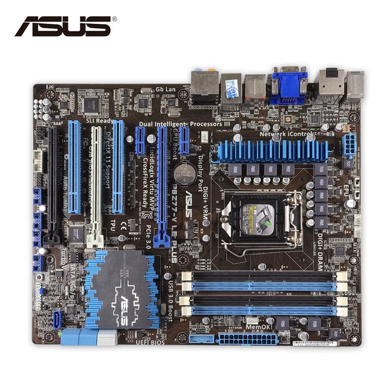 asus p8z77 v le plus review