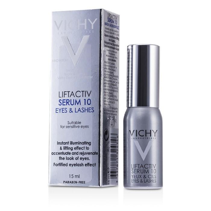 vichy liftactiv serum 10 eyes & lashes review