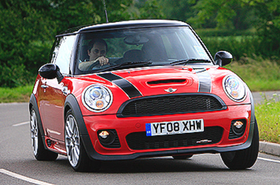 mini john cooper works review 2009