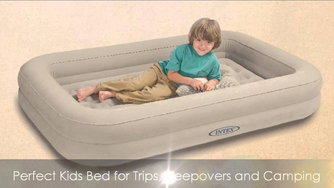 intex kidz travel bed reviews