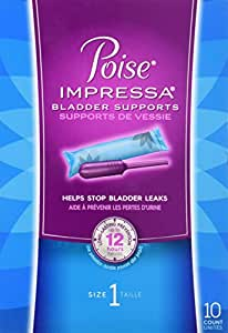 poise bladder control tampons review