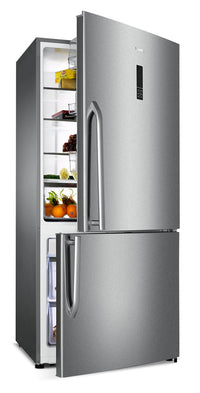 hisense 17 cu ft bottom mount refrigerator review