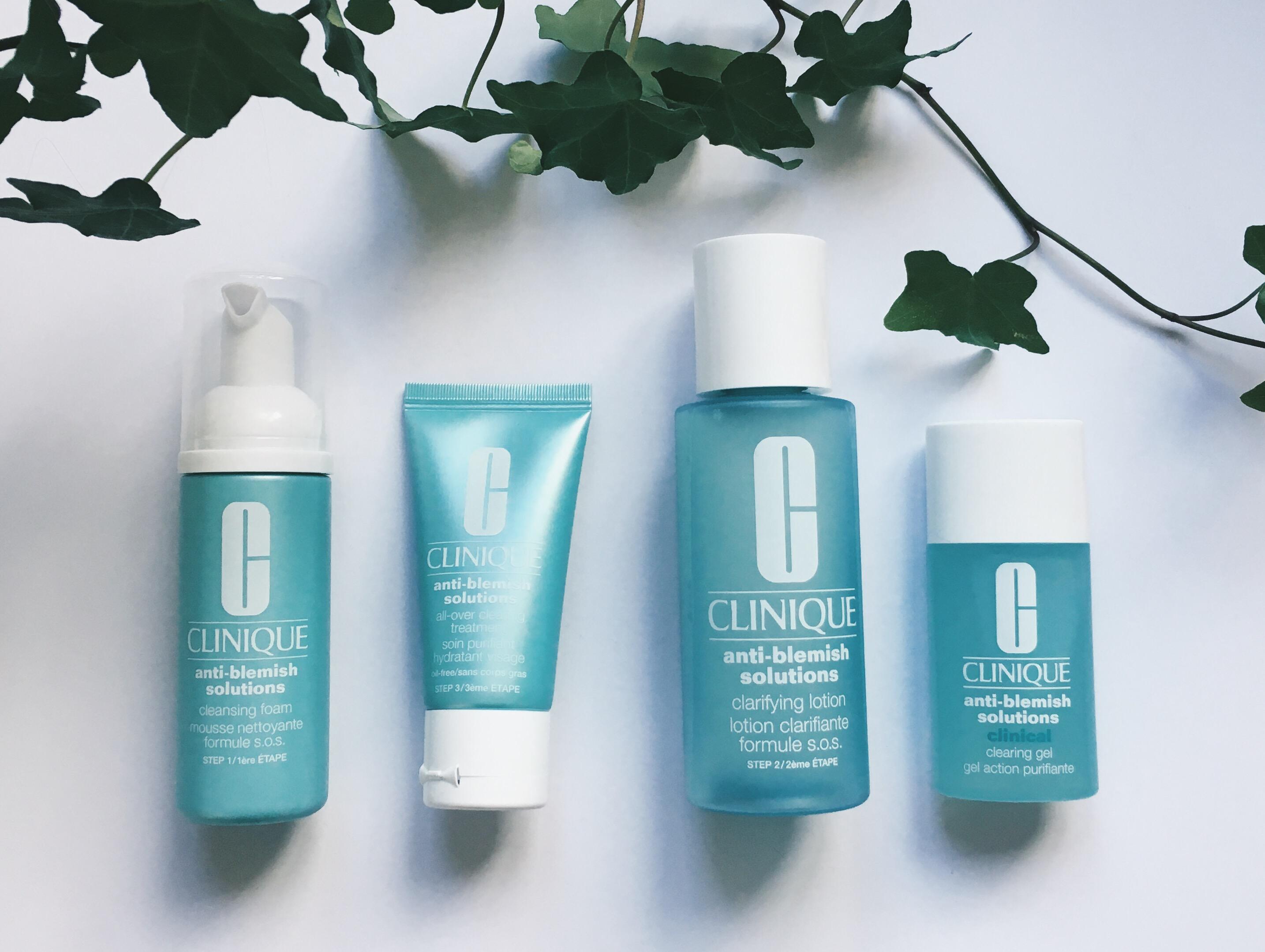 clinique anti blemish set review