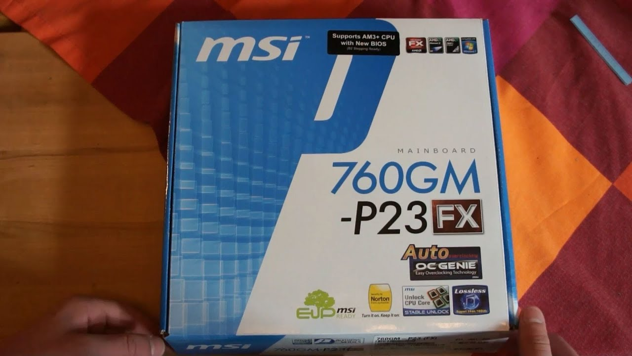 msi 760gm p23 fx review