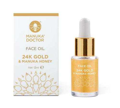 manuka doctor 24k gold & manuka honey face oil review