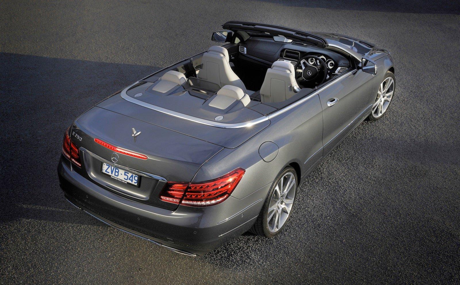 mercedes e class convertible review
